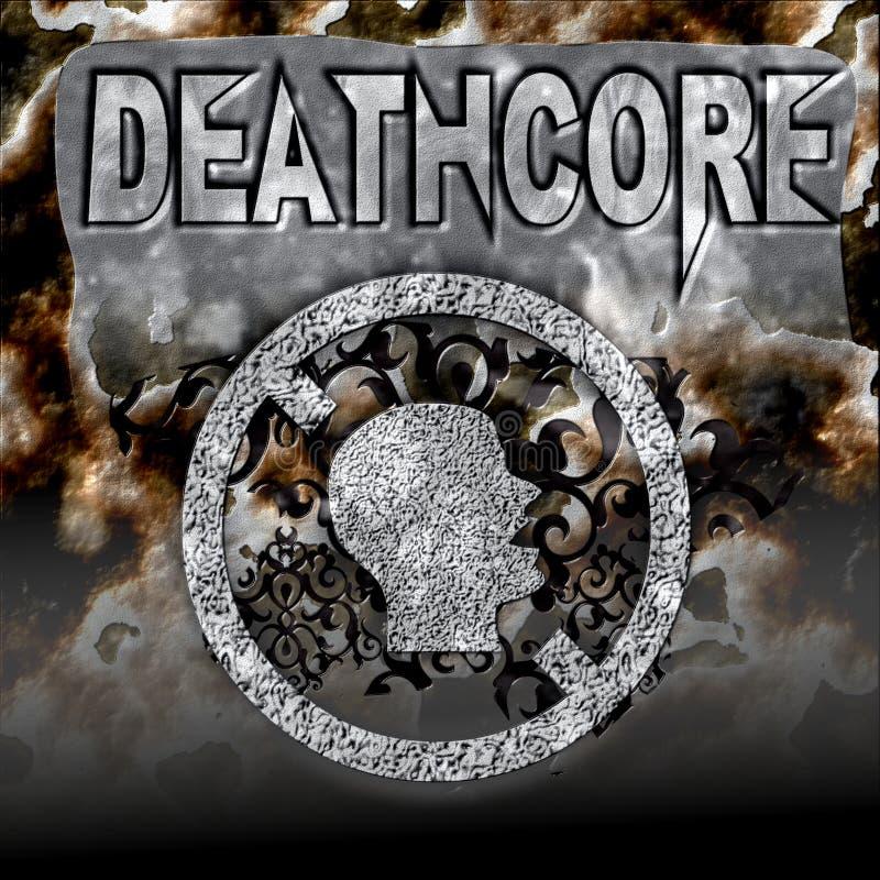 Deathcore fotografie stock