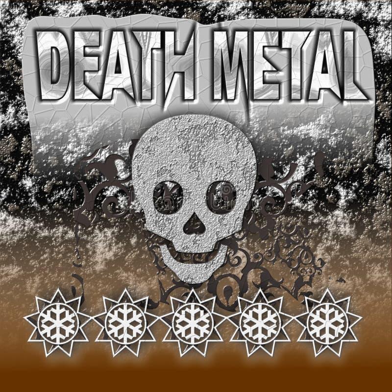 DeathMetal immagini stock libere da diritti