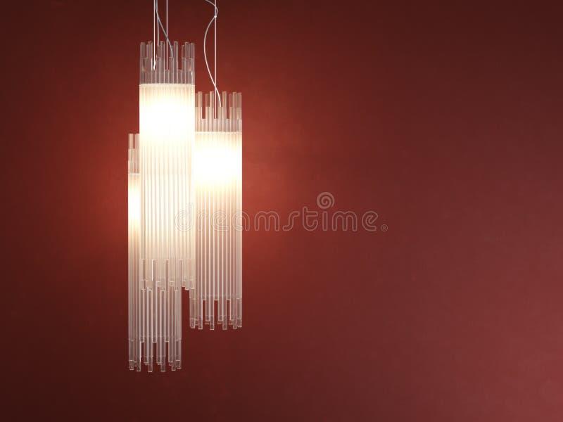 deatil projekta wewnętrzny lampowy cewkowaty fotografia royalty free