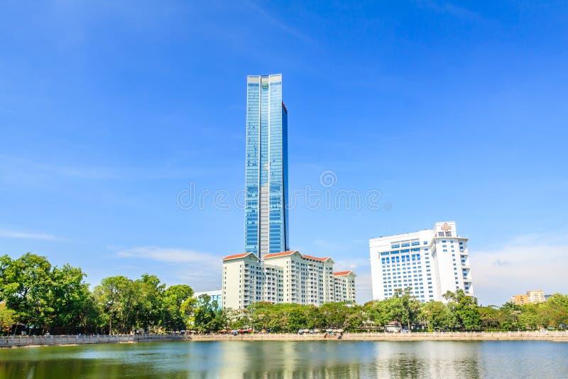 Deawoo hotel in Hanoi royalty free stock image