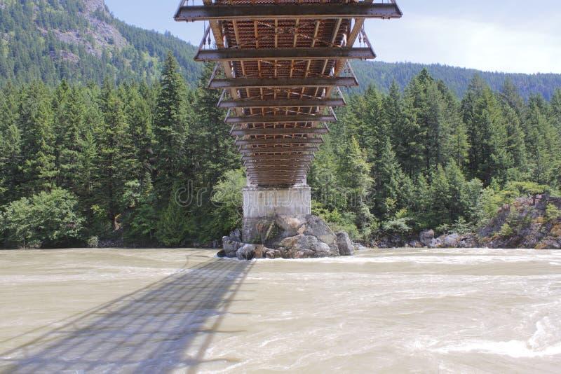 Debajo del puente de Alexandra fotografía de archivo libre de regalías