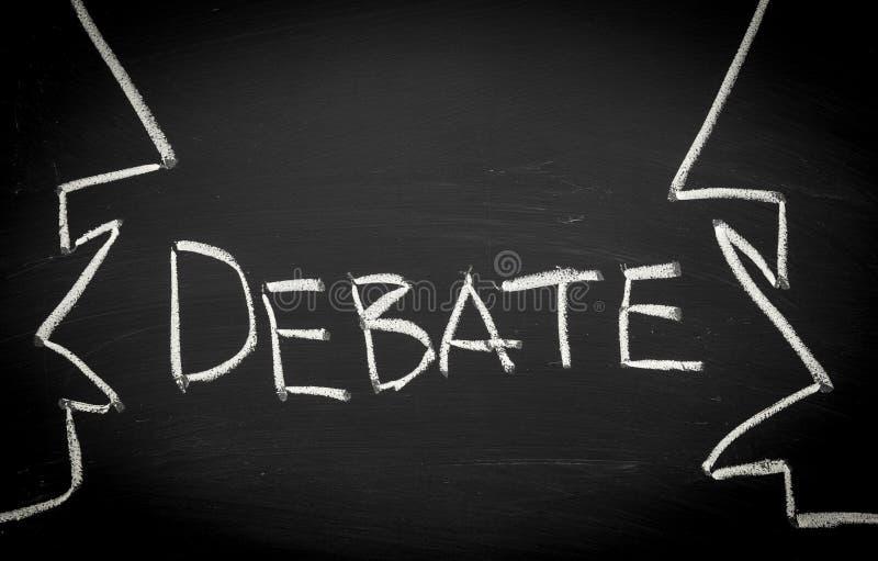 Debattbegrepp arkivbild