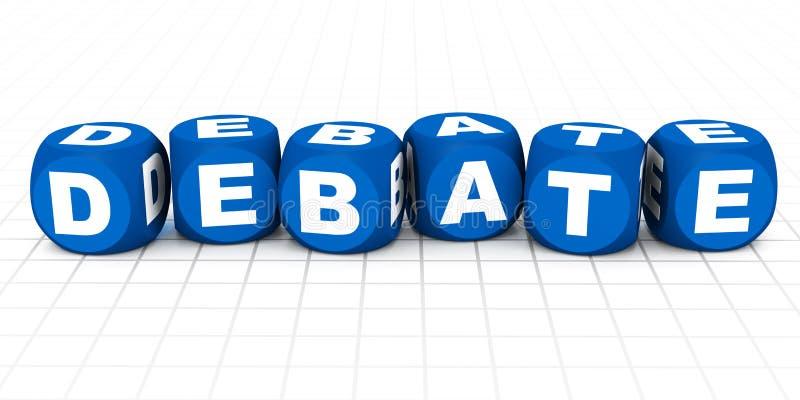 Debatte lizenzfreie abbildung