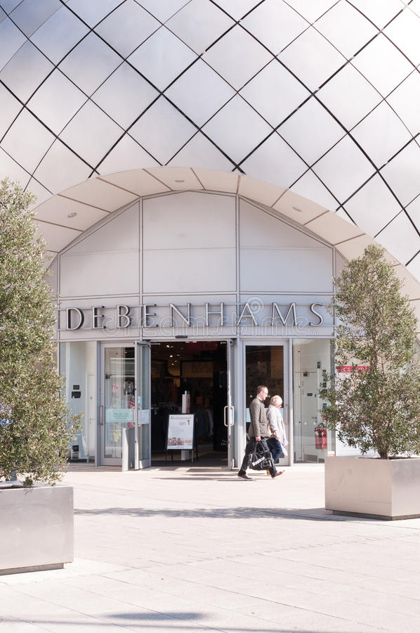 Debenhams百货商店 库存照片