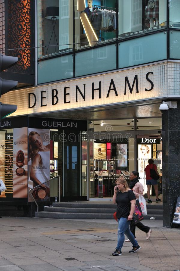 Debenhams obraz royalty free