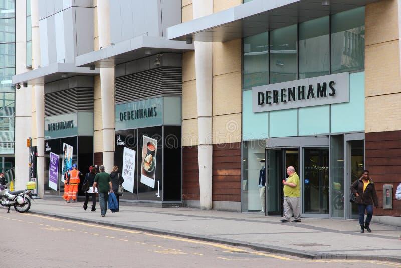 Debenhams wydziałowy sklep zdjęcia stock