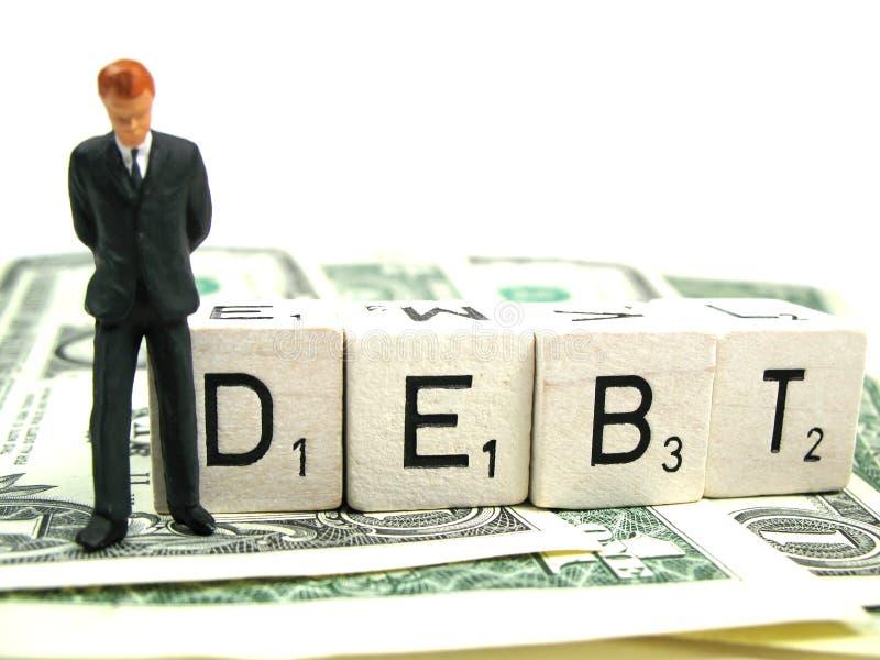Debito immagine stock libera da diritti