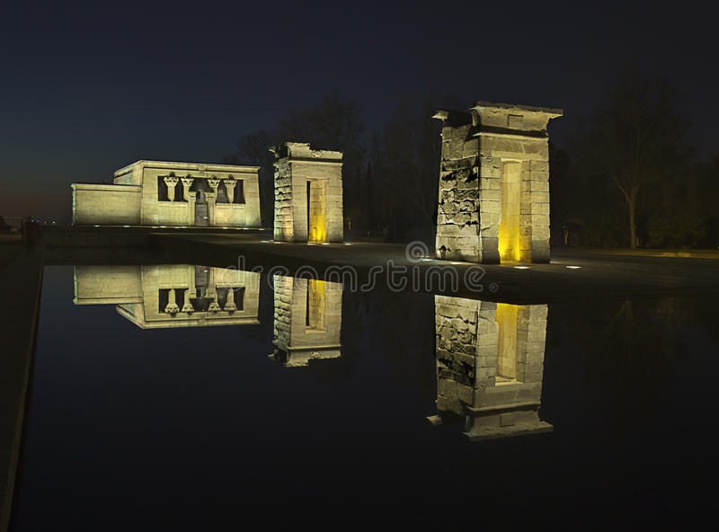 Debod de Templo photo stock