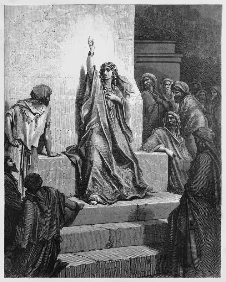 Deborah, Religionszahl lizenzfreie abbildung
