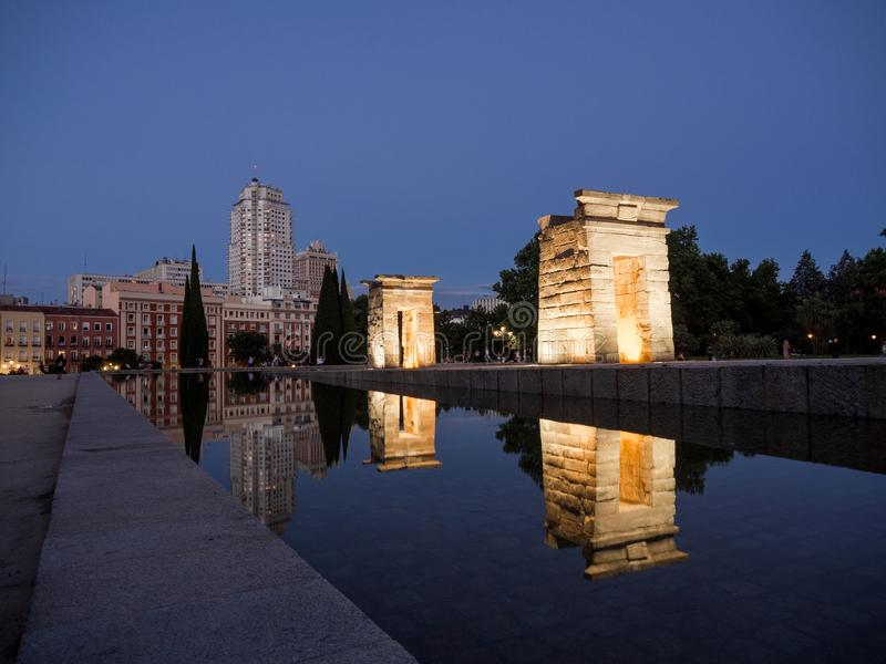 Debot Мадрид Templo стоковое фото rf