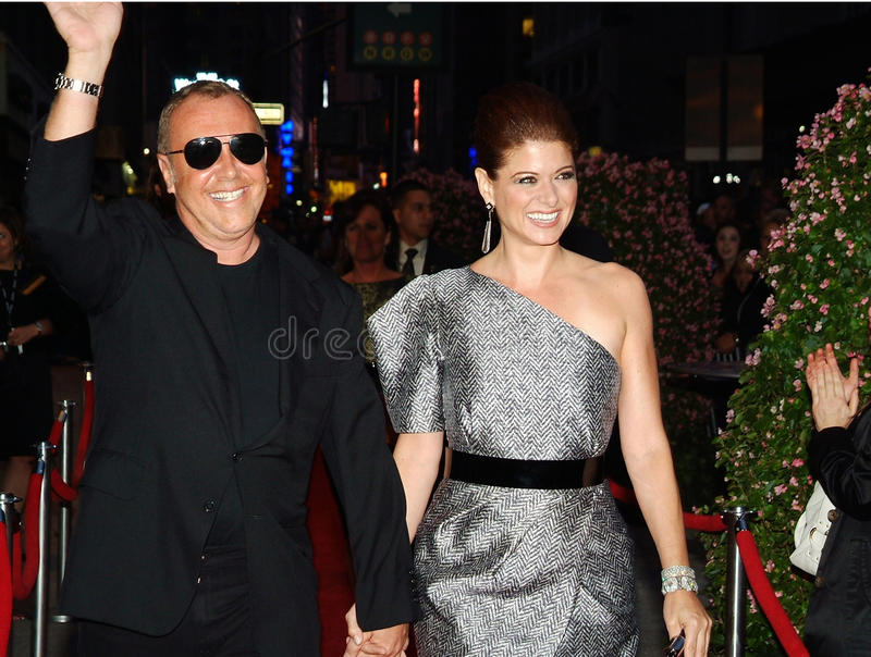 Debra Messing Michael Kors stock fotografie