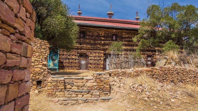 Debre Damo Monastery in Tigray region, Ethiopia stock image