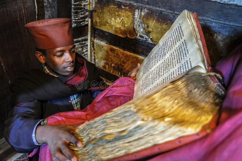 Debre Damo in Tigray, Ethiopia stock image