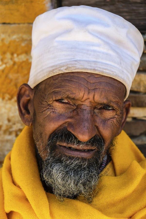 Debre Damo in Tigray, Etiopia immagini stock libere da diritti