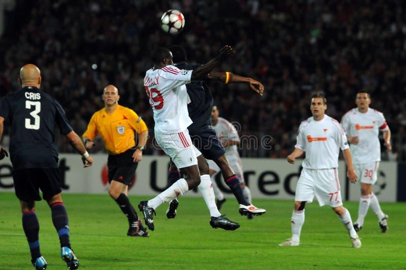 Download Debrecen - Lyon UEFA Champions League Match Editorial Photography - Image: 11144347