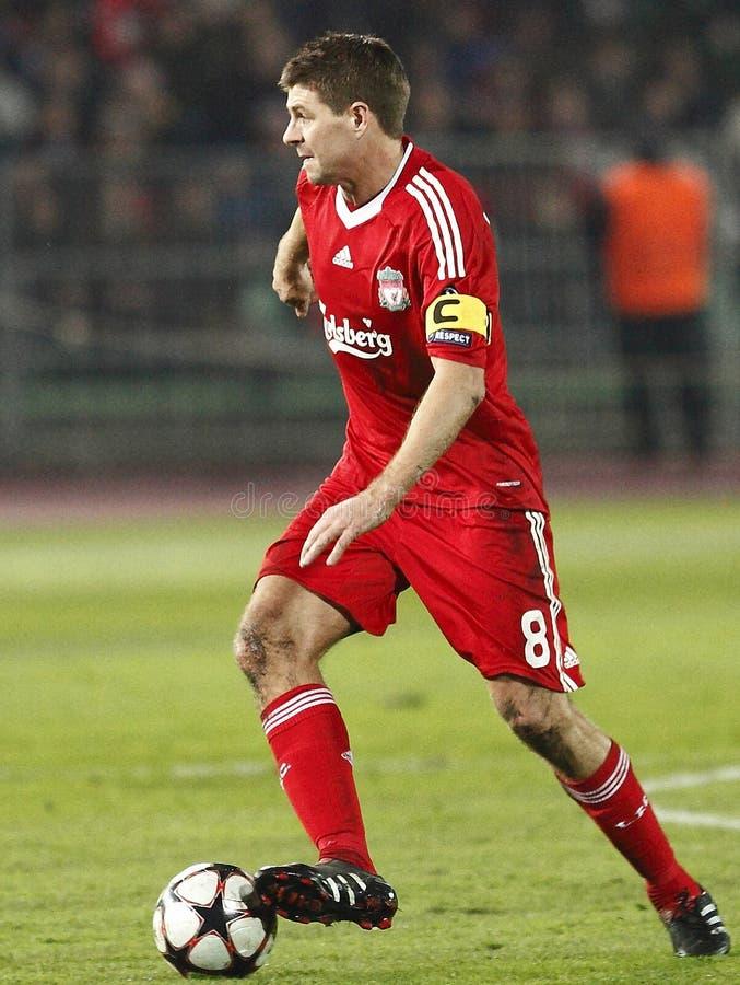 Debrecen vs Liverpool UEFA Champions League match royalty free stock photography