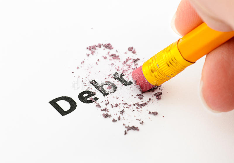 Debt stock photos