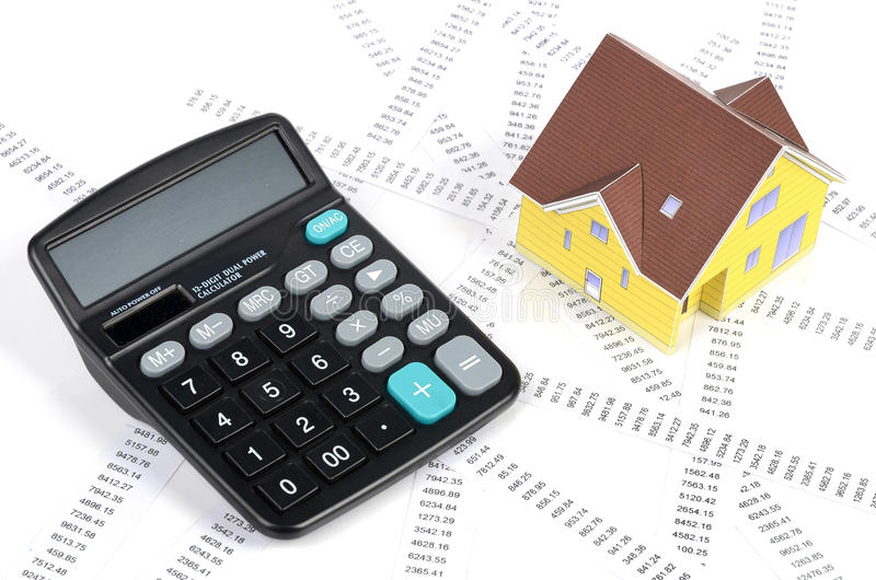 Download Debt stock image. Image of house, keyboard, doll, black - 25249145
