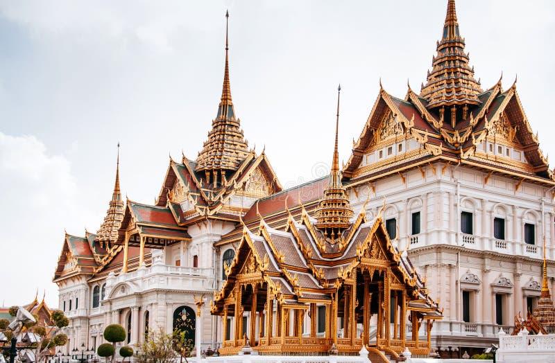 Chakri Maha Prasart throne hall, main throne hall of Grand Palace, Bangkok, Thailand stock images