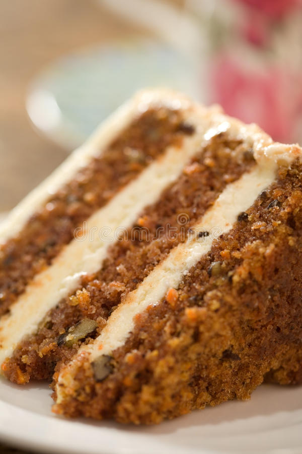 Download Decadent Carrot Cake stock photo. Image of selective - 17113540