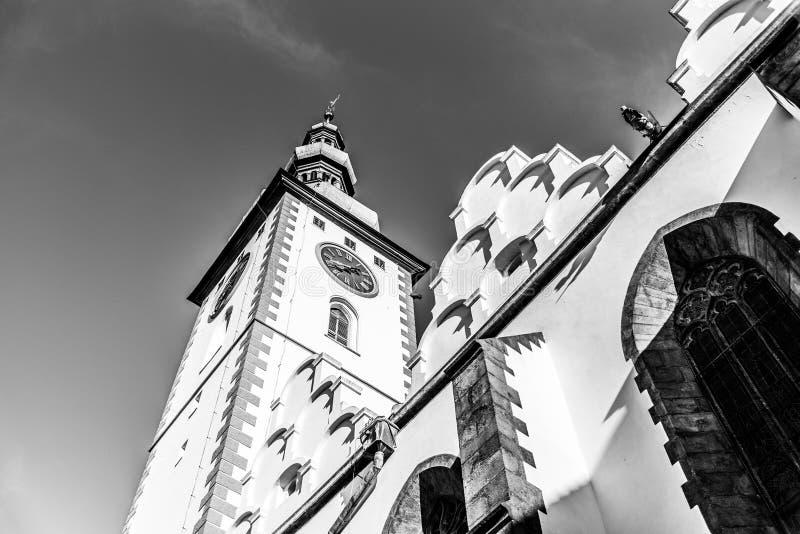 Decanos Church de se?ores Conversion en el soporte, Tabor, Rep?blica Checa fotografía de archivo libre de regalías
