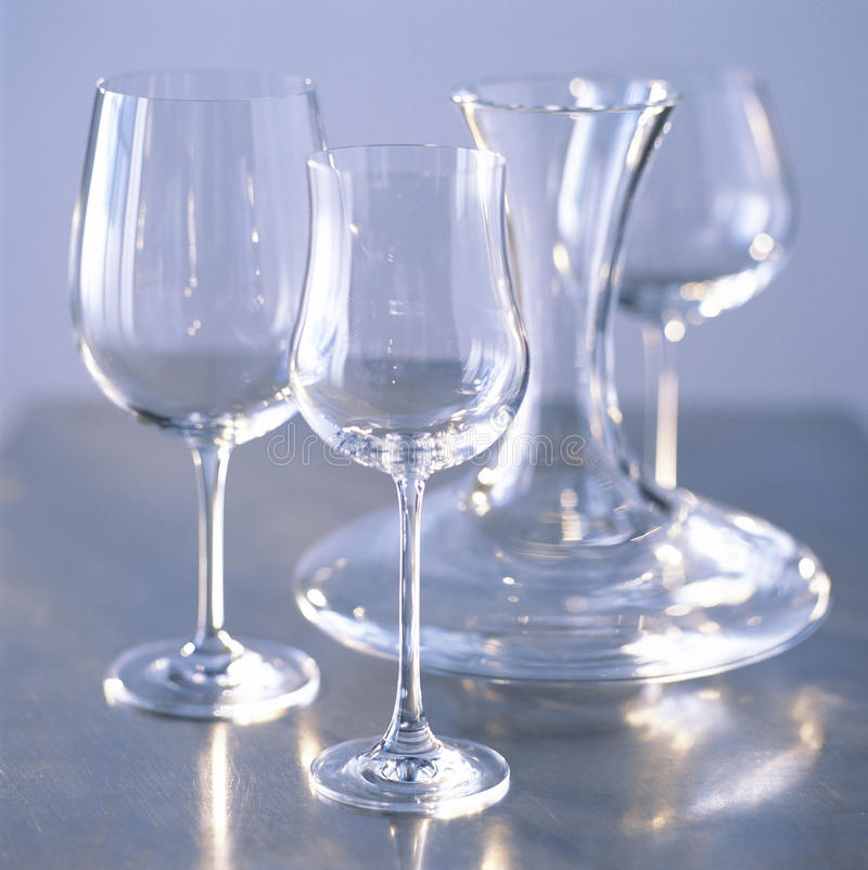 Download Decanter And Glasses Royalty Free Stock Images - Image: 23702289