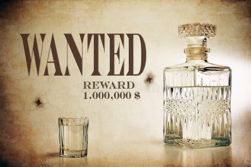 Download Decanter and shot stock image. Image of liquor, liquid - 26977233