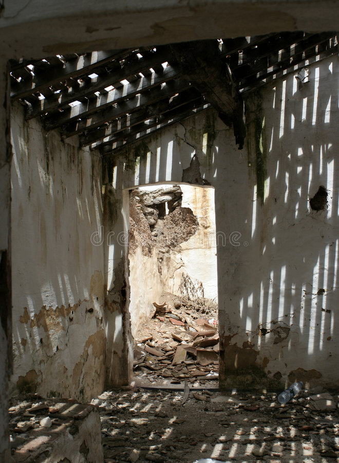 Download Decaying building stock photo. Image of paint, abandonment - 1188878