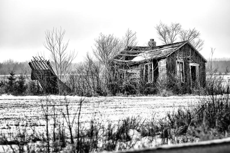 Download Decaying Shack stock image. Image of upper, decaying - 28242003