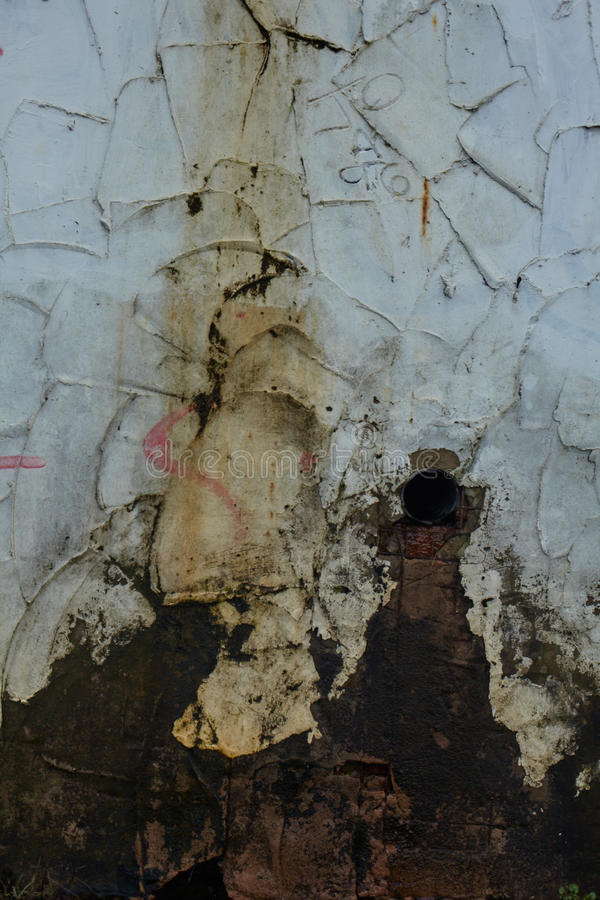 Decaying Wall Detail And Texture stock photo