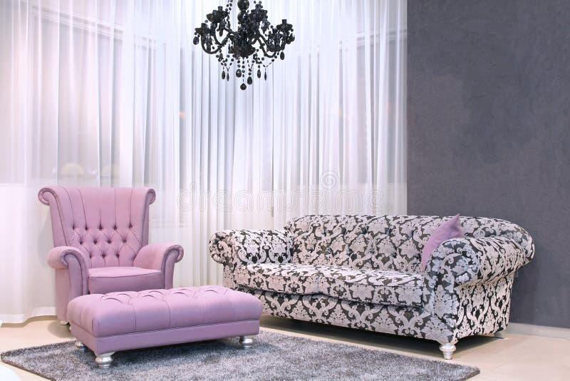 Deccorative Möbelraum der Weinlese lizenzfreies stockfoto