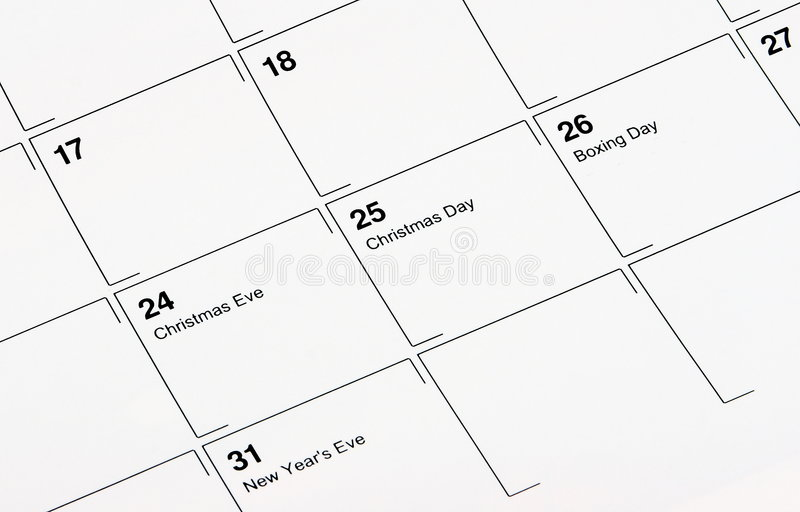Download December Calendar stock photo. Image of date, background - 5993668