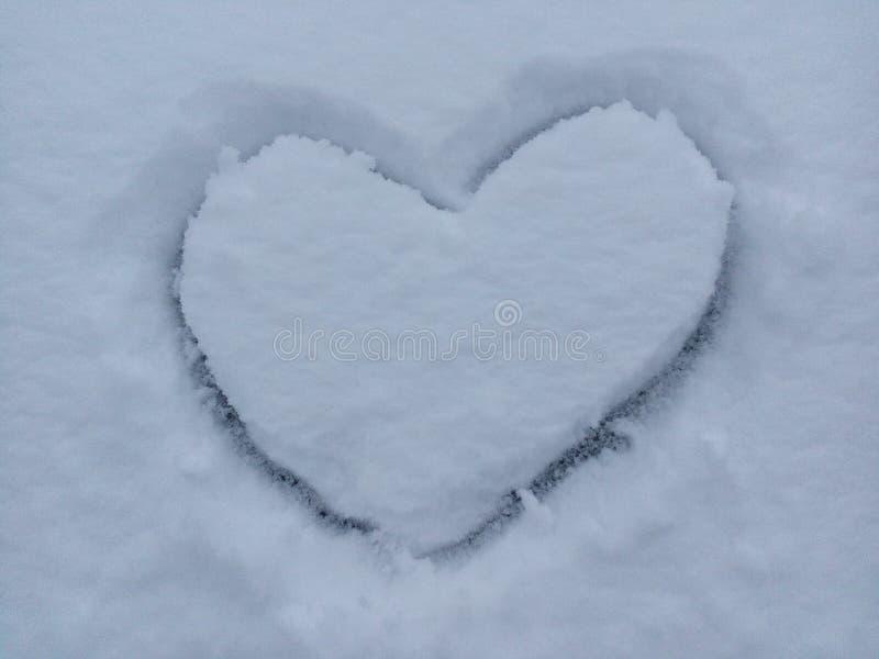 December säsong, design, romantiker, is, romans, frost, förkylning, valentin, ferie, snö, vinter, vit, förälskelse, hjärta, symbo fotografering för bildbyråer