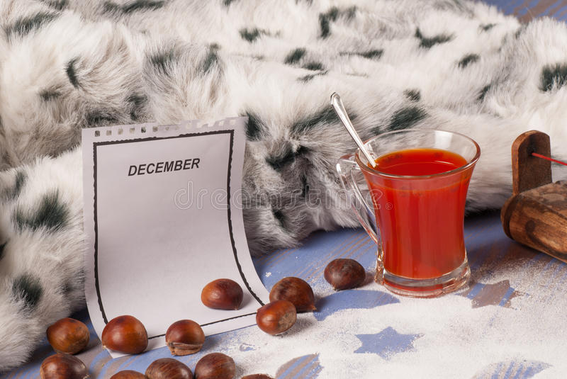 Download December still life stock photo. Image of blanket, homely - 28736438