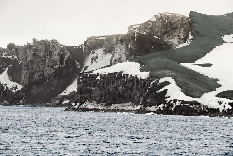 Deception Island, South Shetland Islands archipelago, northwest stock photo