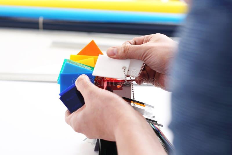 Dechado del color fotografía de archivo libre de regalías