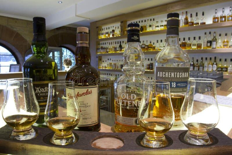 Dechado del whisky foto de archivo