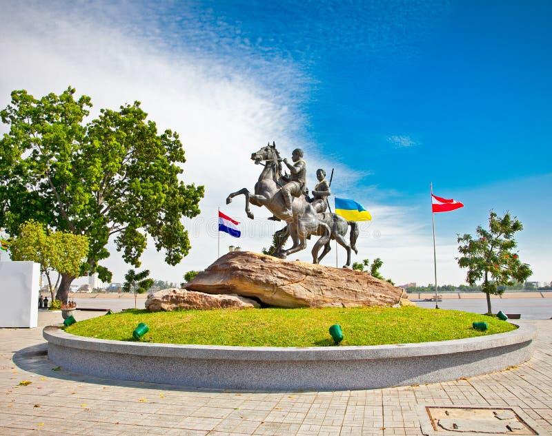 Decho Meas Decho Yat, Phnom Penh, Cambogia fotografie stock
