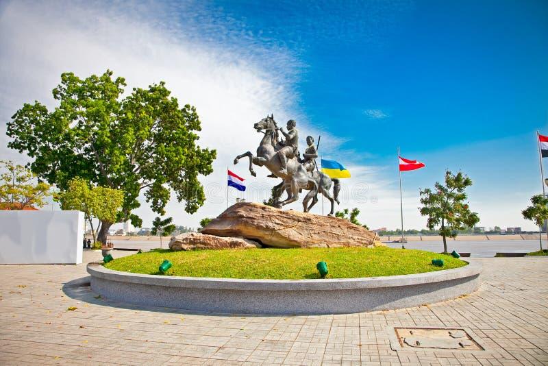 Decho Meas Decho Yat, Phnom Penh, Kambodża fotografia royalty free