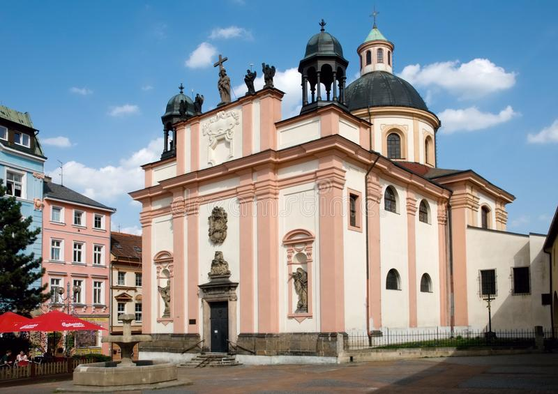 Decin tjeckisk republik royaltyfria foton
