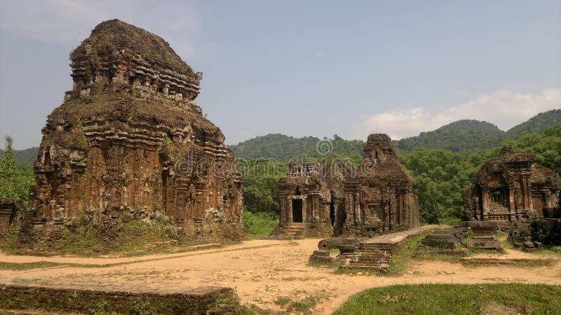 Deciphering Ancient Cham Art stock photos