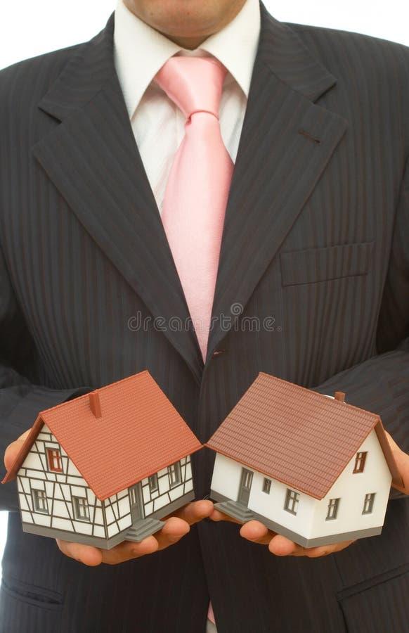 Decisión de las propiedades inmobiliarias imágenes de archivo libres de regalías