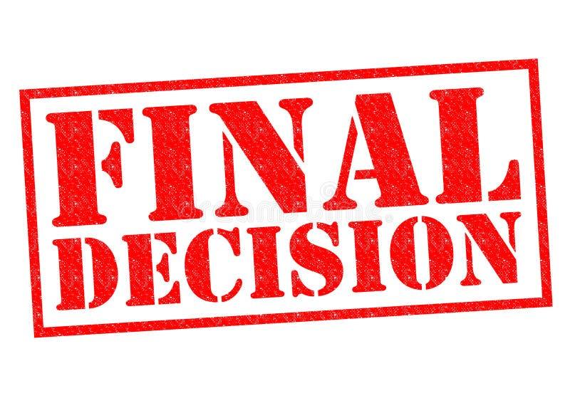 Decisión final libre illustration