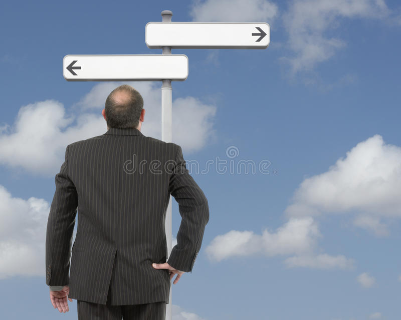 Download Decision stock photo. Image of deciding, hint, career - 26777278