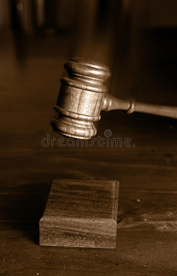 Download Decision Made Judges Gavel Hitting Stock Image - Image of justice, auction: 15363771