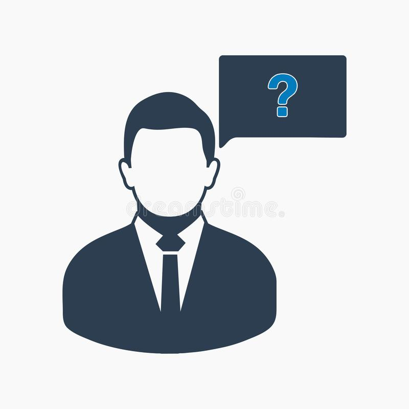 Decision making icon. vector illustration