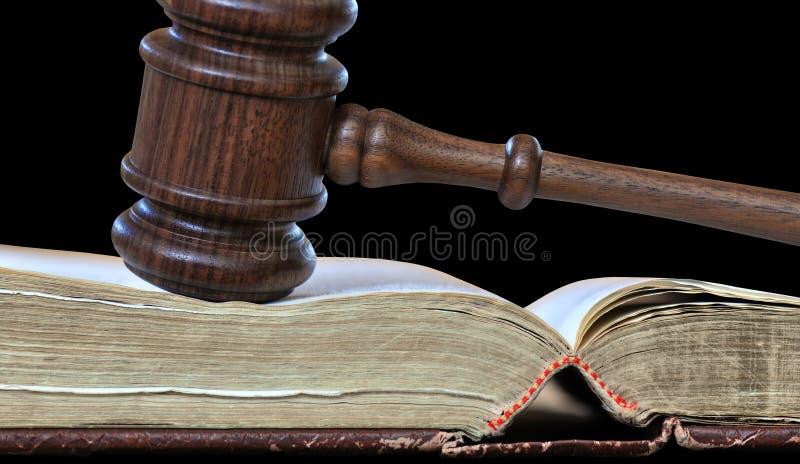 Decisiones judiciales fotografía de archivo