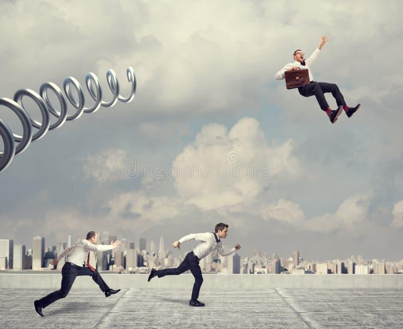 Decisive advantage concept stock photo