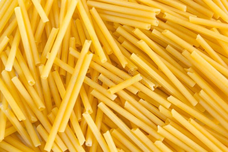 Decisivo degli spaghetti chiuda su fotografia stock