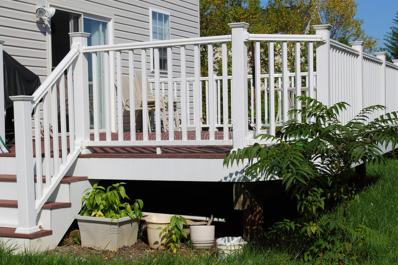 Download Deck stock image. Image of maintenance, backyard, step - 21491793